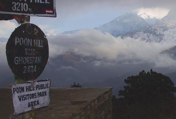 Poon Hill Ghorepani trekking campo base del Annapurna