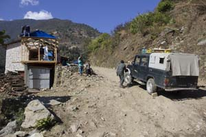 Senderismo en Nepal: camino tortuoso