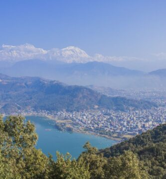 pokhara desde arriba