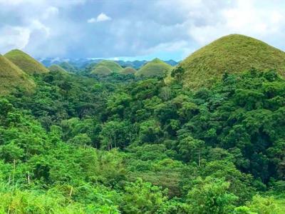 Las Chocolate Hills o Colinas de Chocolate en Bohol