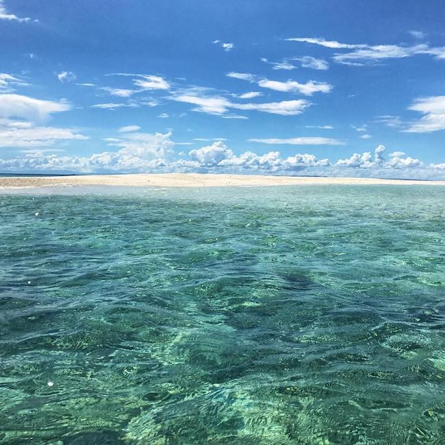Kalanggaman island Filipinas