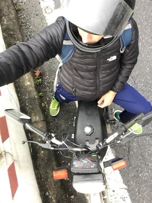 Hai Van Pass moto