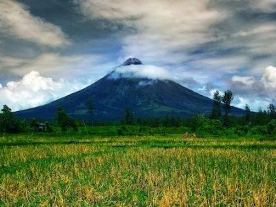 Monte Mayon volcan perfecto