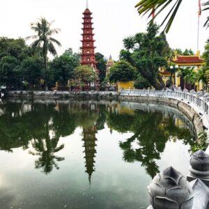 Qué visitar en Hanoi en 3 días pagoda