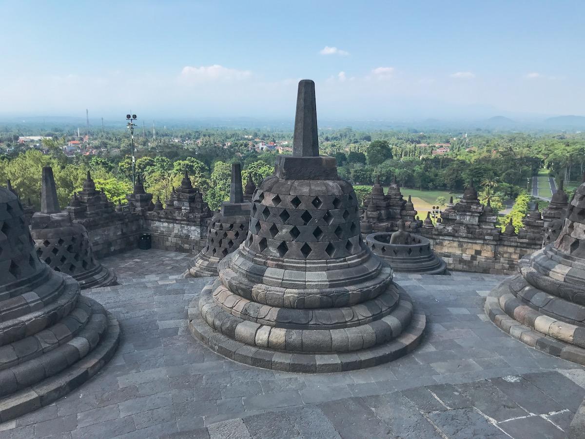 Ruta de 15 días por Indonesia borobudur