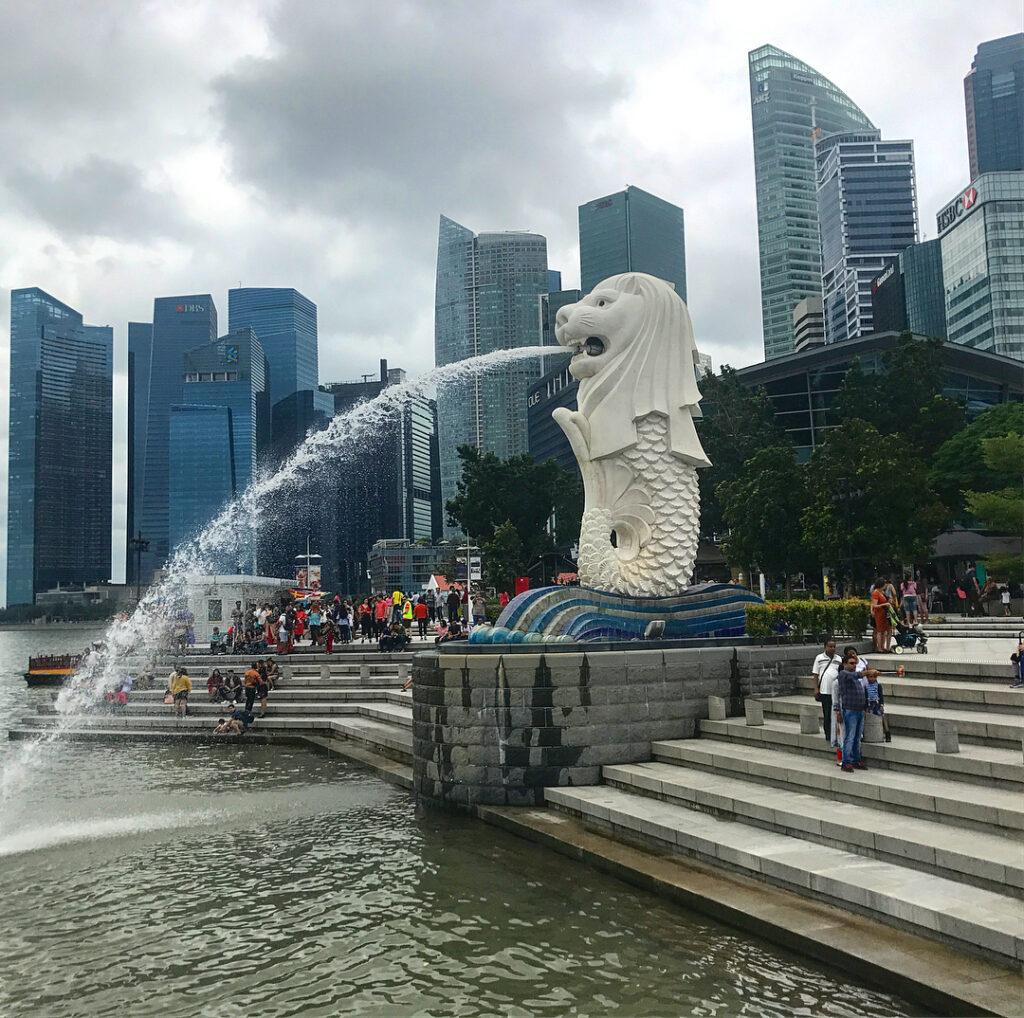 Guía de Singapur: El Merlion