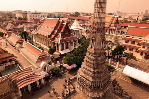 banglamphu wat arun bangkok