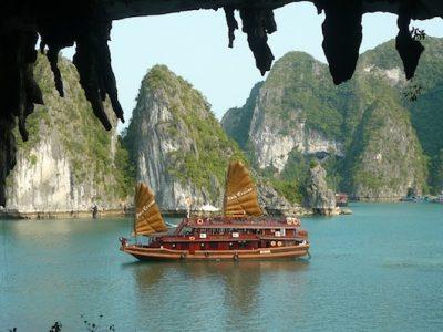 barco vietnamita junco