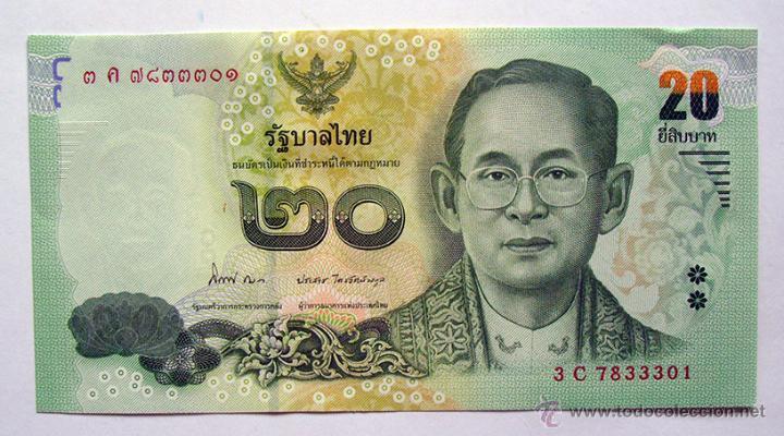 billetes de tailandia