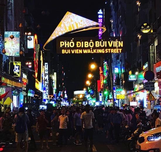 Que ver en Ho Chi Minh bui ven street