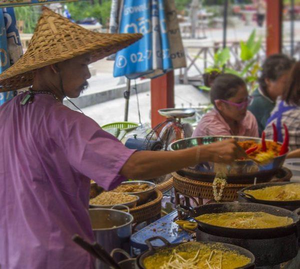comida en bangkok