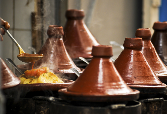 comida marroquí tajin