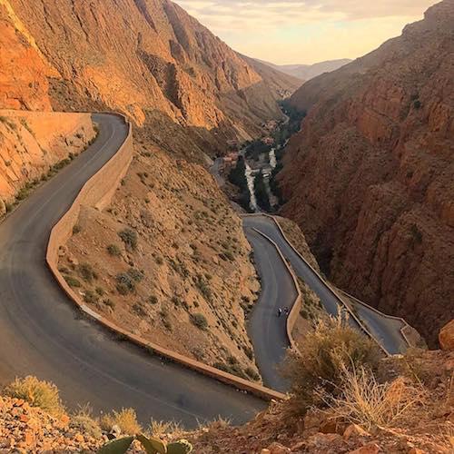 Que ver en Marruecos: Garganta del Dades