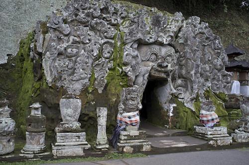 Templo Goa Gajah en Ubud