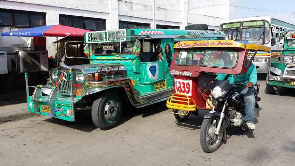 jeepney y triciclo filipinas
