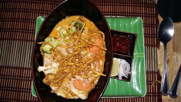 Comer en Chiang Mai Tailandia