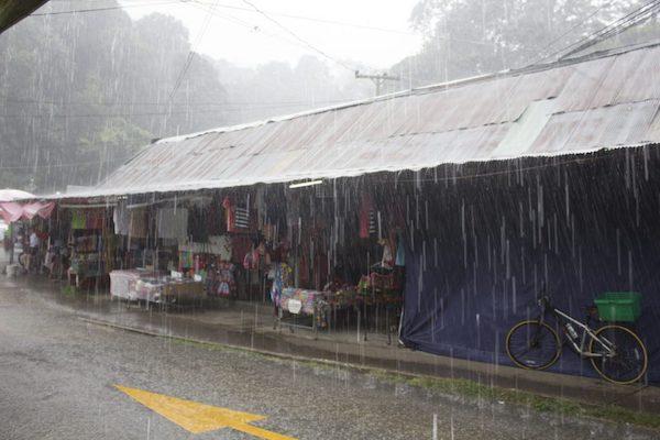 lluvia en tailandia
