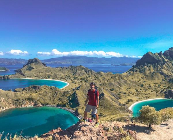 parque nacional de komodo padar island