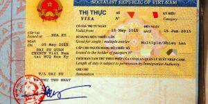 visado para vietnam